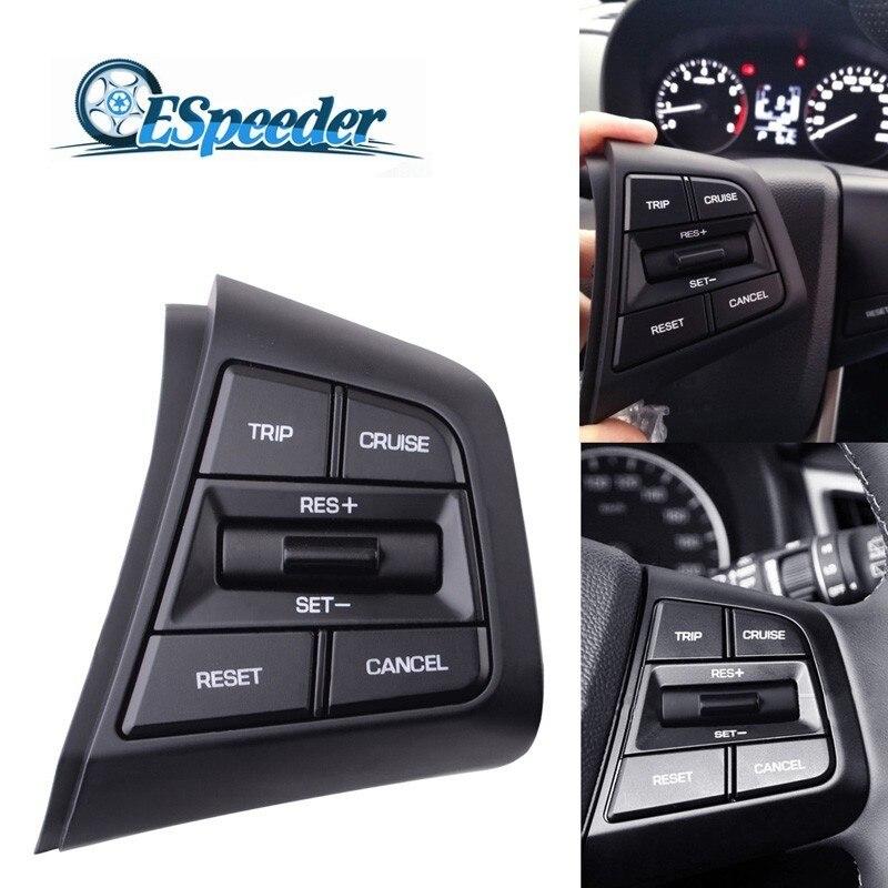 Singueder pour Hyundai ix25 (creta) 1.6 L voyage croisière annuler interrupteur volant le bouton latéral droit chauffage/câble Standard