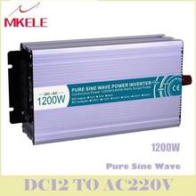 Sale MKP1200-242 Pure Sine Wave Off-grid Power Inverter 1200w Dc-Ac 24v 240v Voltage Converter Solar Digital Display China off grid pure sine wave solar inverter 24v 220v 2500w car power inverter 12v dc to 100v 120v 240v ac converter power supply