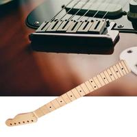22 Frets Maple Wood Guitar Neck Replacement Inlay Back Guitar Neck for Fender Tele TL Replacement Guitar Accessories Parts