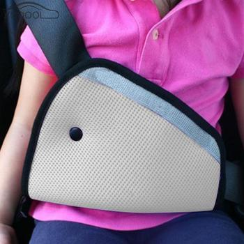 Triangle Car Safe Fit Seat Belt Cover Sturdy Adjuster Car Baby Safety Belts Adjust Device Anti-injury Baby Child Protection image