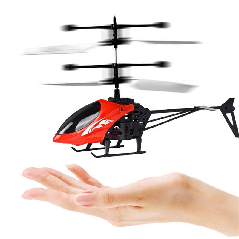 RC Flying Ball Luminous Kid's Flight Balls Electronic Infrared Induction Aircraft Children Remote Control Toys Mini Helicopter