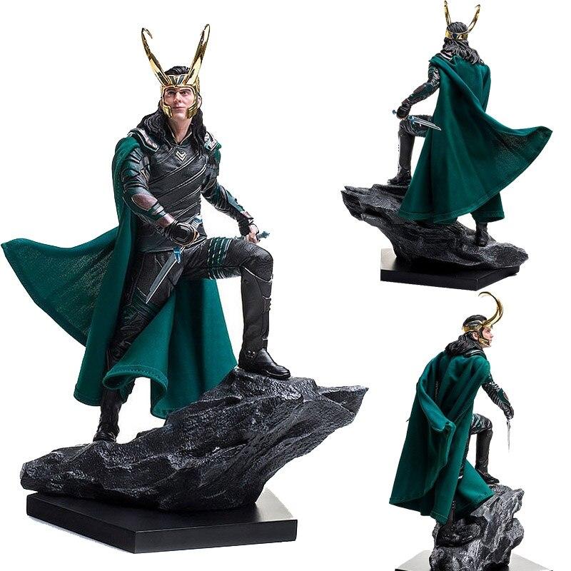Figures Scene Collectible The-Avengers-Toys Thor Ragnarok Marvel Comics Loki 1/6th-Scale