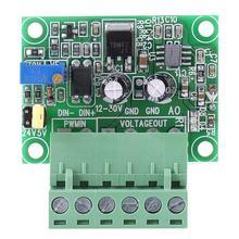 Регулируемый цифровой аналоговый преобразователь сигнала PWN конвертер Модуль pwm к напряжению 0-10 В Модуль PLC