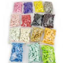70PCS Slime Mud Filler Clay Decoration Craft Sponge Strip Foam Beads Kids Toys Christmas Gifts Slime Accessories 15 Colors