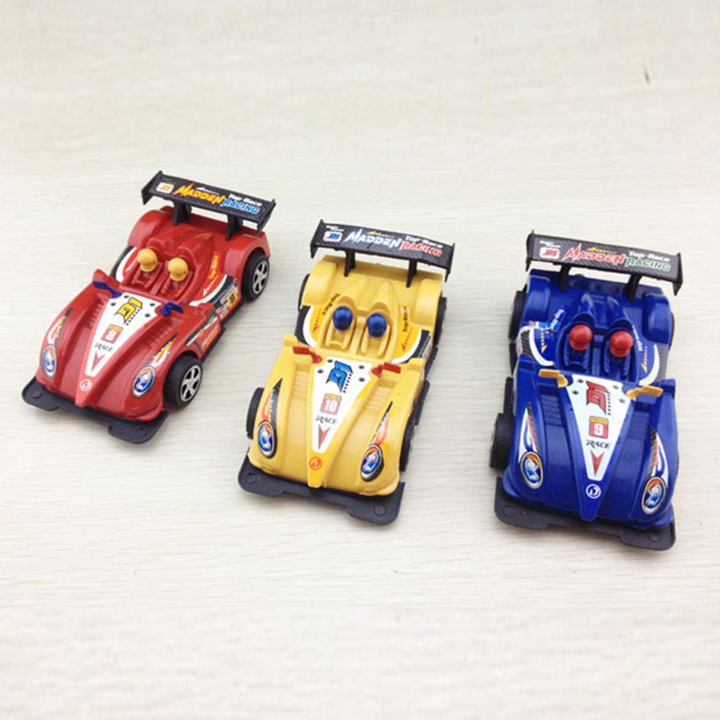 Children Kids Plastic Mini Racing Car Model Toys 3 years old Pull String Simulation mini racing car.