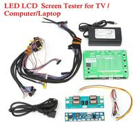 1 Set Laptop LCD/LED Test Tool Kit Panel Screen Tester+ 14PCS Lvds Cables + Inverter