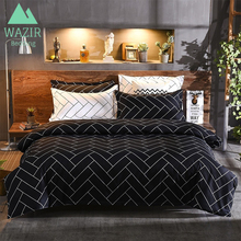 WAZIR Deluxe Gong Tingfeng Print Bedding Set Duvet Cover Pillowcase Twin Queen King Beding Size