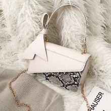 купить Female Crocodile Pattern Crossbody Bag For Women 2019 PU Leather Luxury Handbag Designer Ladies Chain Bow Shoulder Messenger Bag по цене 788.02 рублей