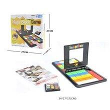 Горячая Головоломка Куб 3d головоломка гонка доска с кубиками игра дети взрослые Образование игрушка родитель-ребенок двойная скорость игры Волшебные кубики