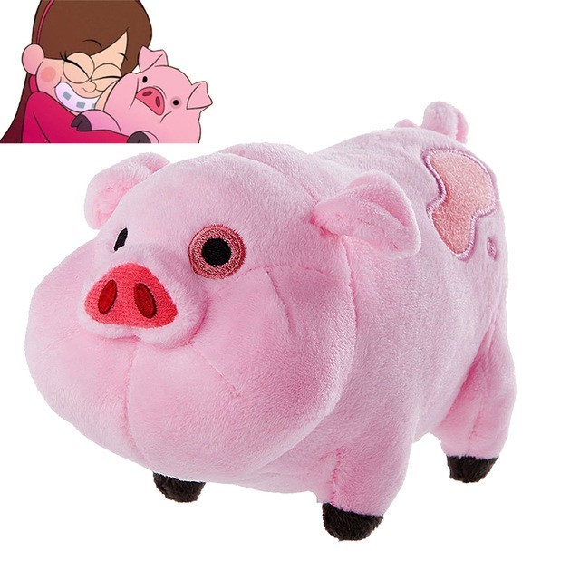 Kawaii 16cm/30cm Gravity Falls Plush Doll Toys Cute Pink Pig Waddles Stuffed Toy Kids Children Birthday Gifts
