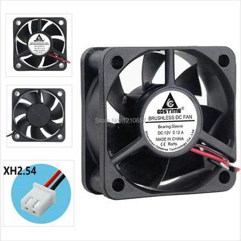 2 PCS LOT Gdstime Cooler 5CM 5020 50mm 50x50x20mm DC 12V 2Pin Brushless Cooling Heatsink Fan 5pcs gdstime 50mm 50x50x15mm fan 5015 dc 24v cooling fan 2pin 5cm pc laptop computer industrial cooler fan heatsink fans