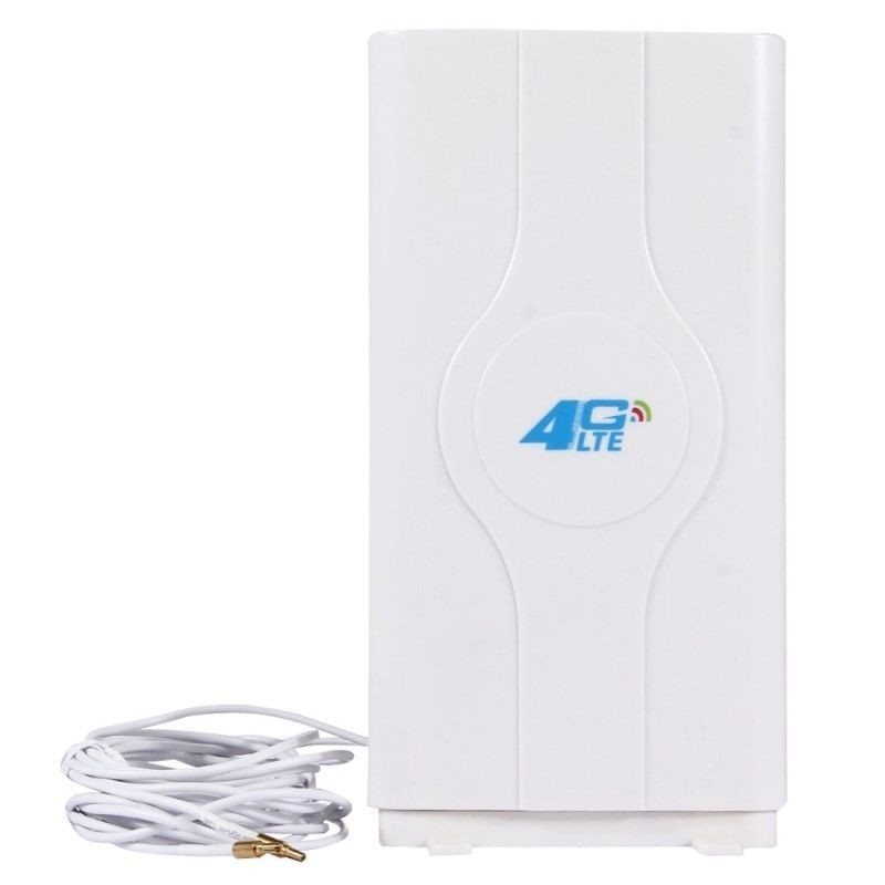 4G LTE MIMO Mobile Antenna with 2 PCS 2m Male Connector Booster Wire CRC9 SMA TS-9 Port LF-ANT4G01 Indoor 88dBi