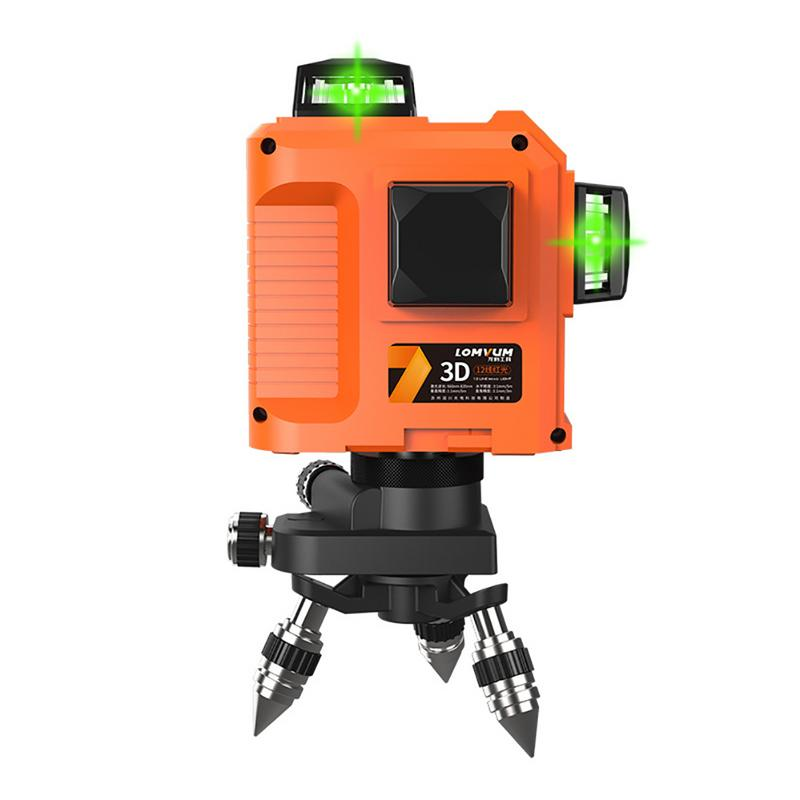 3D Green Light Level Instrument High Precision Infrared Ray Laser Level 8-Line 12-Line Level Instrument3D Green Light Level Instrument High Precision Infrared Ray Laser Level 8-Line 12-Line Level Instrument