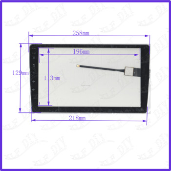 ZhiYuSun wholesale 5PCS/LOT  80150 10.1inch 258*129mm capacitive screen for car  DVD redio this is compatible
