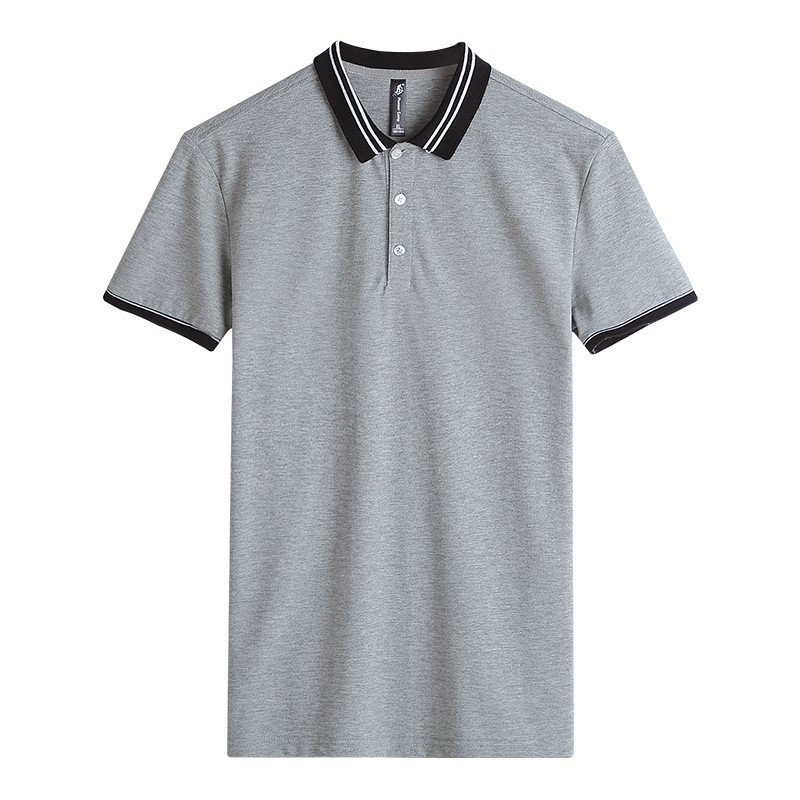Pioneer Camp Golf Polo Shirt New Short Sleeve Men Brand Clothing Grey Simple Casual Patchwork Polos Male ACP703084