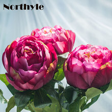 Dream House DH artificial peony flower wedding silk real touch fake home decoration accessories