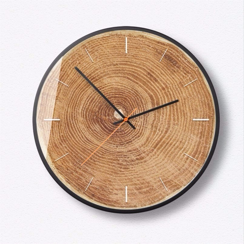 New 3D Wall Clock Quartz Duvar Saati Wall Clock Modern Design 12inch/14inch Silent Movement Simple Wall Clock Large Size Home