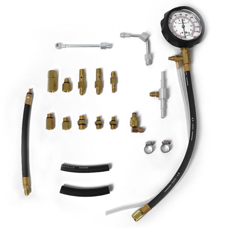 TU-114 injecteur de carburant pompe d'injection testeur de pression jauge Kit outils de voiture Test de pression de consommation de carburant outils de Diagnostic de voiture - 2