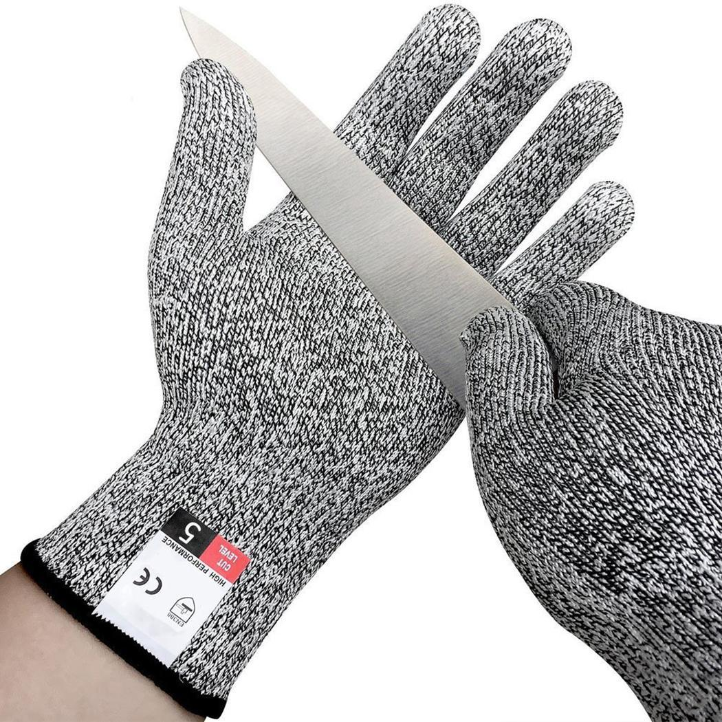 Woodworking Safety Cut Resistant Protective Kitchen Wire Anti Cutting Gloves(China)