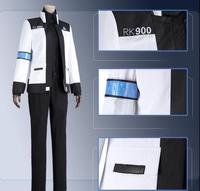 Game Connor Cosplay Costume RK900 Agent Suit Uniform Cosplay Costume for Halloween