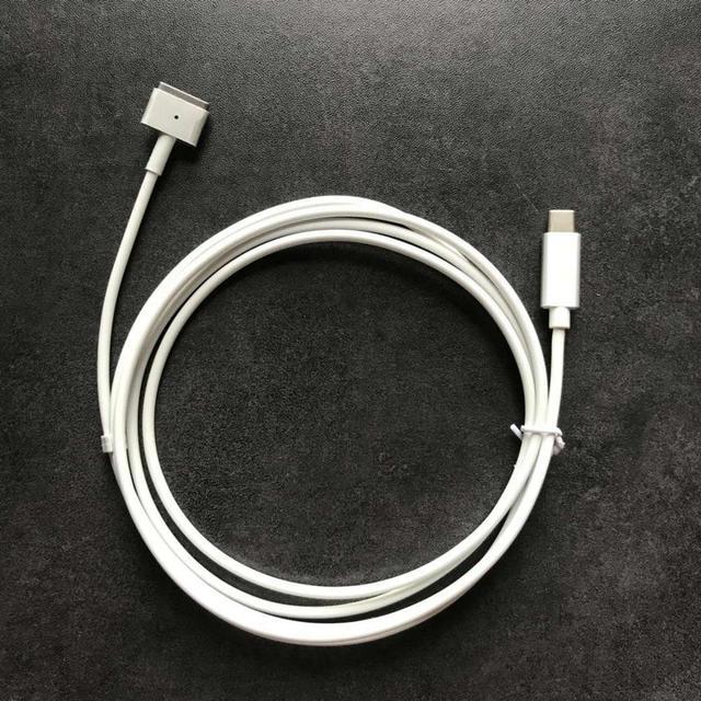 新! 交換タイプ C にケーブルコード Magsaf * 2 Macbook Pro の網膜空気 45 ワット 60 ワット 85 60w 電源アダプタ充電器