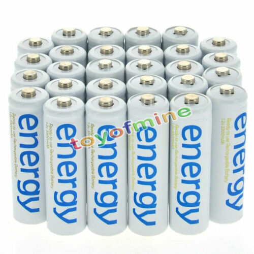 4/8/16/24/32/48pcs 3A 2000mAh 1.2V AAA Ni-Mh Energy Rechargeable Battery White Cell For RC MP3