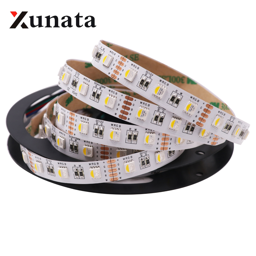 Lights & Lighting 12v 24v 4 In 1 Rgbw Rgbww Led Strip 60leds/m Waterproof Flexible Tape Led Light Lamp For Home Decoration 5m/lot To Be Highly Praised And Appreciated By The Consuming Public Led Lighting