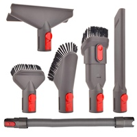 6 Pcs Attachment Kit Brush Tool For Dyson V7 V8 V10 For Dyson Vacuum Cleaner Mattress Tool Crevice Tool Nozzle Dyson Parts