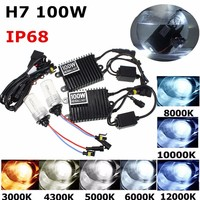 New 75W/100W for HID KIT AC xenon Ballast H1 H3 H4 H7 H8/H9/H11 9005 9006 Xenon Bulbs Lamp car headlight auto lamp