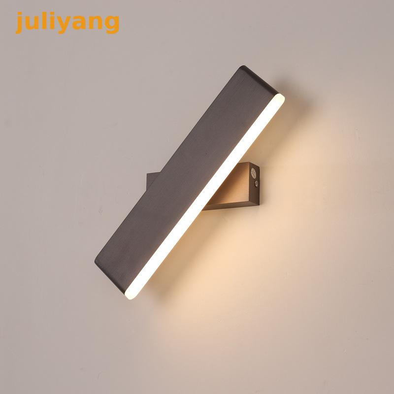 Modern Simple 360 angle Rotatable stair lighting bedside wall lamp for bed room shop restaurant decoration