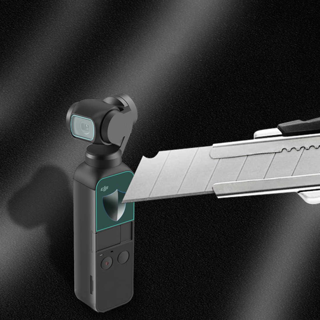 2/4/6 pièces 0.33mm lentille Film de protection en verre trempé écran de protection pour DJI Osmo poche cardan 3 axes stabilisé caméra portable