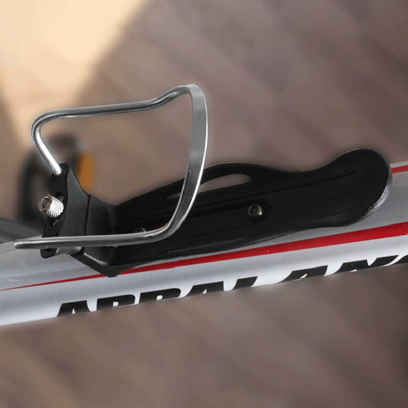 Liga de alumínio Da Bicicleta Ciclismo Garrafa de Água Bebida Bicicleta Titular Rack de Montagem Para Bicicleta de Montanha de Dobramento Gaiola