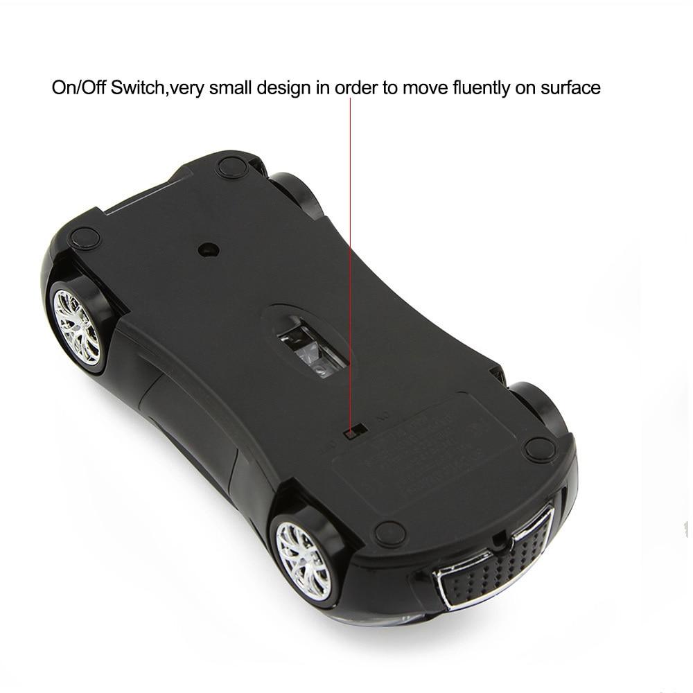 CHYI Wireless Mouse Infiniti Sports Car Mouse 1600 DPI - Համակարգչային արտաքին սարքեր - Լուսանկար 5