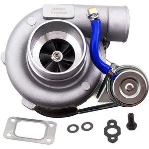 Image 1 - GT2871 GT25 GT28 T25 GT2860 SR20 CA18DET турбо Турбокомпрессор воды AR .64 настройки