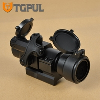 TGPUL Tactical Hunting Scopes 4 Moa Rifle Optic Scope Comp M2 Red Dot Sight with Killflash and Lens Cover 20mm Weaver Picatinny