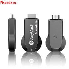 Anycast M100 5G/2.4G 4K Miracast HDMI واي فاي لاسلكي جهاز استقبال للتليفزيون محول واي فاي عرض يلقي استقبال دونغل لنظام التشغيل IOS أندرويد ويندوز