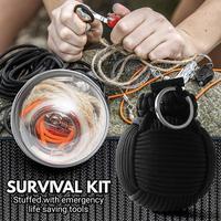 Sac de survie d'urgence créatif Mini trousse de premiers soins familiale kits de voyage de Sport sac médical à la maison sac de premiers soins de voiture en plein air Sécurité et survie Sports et Loisirs -
