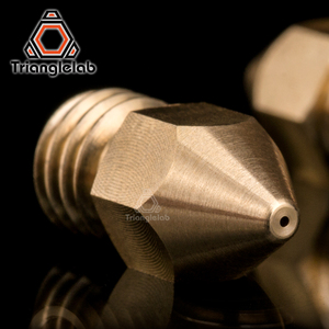 Image 2 - trianglelab Super high quality Zortrax Brass Nozzle for Hotend Kit Zortrax M200 M300 3D printer 1.75MM Screw thread M6 EXtruder