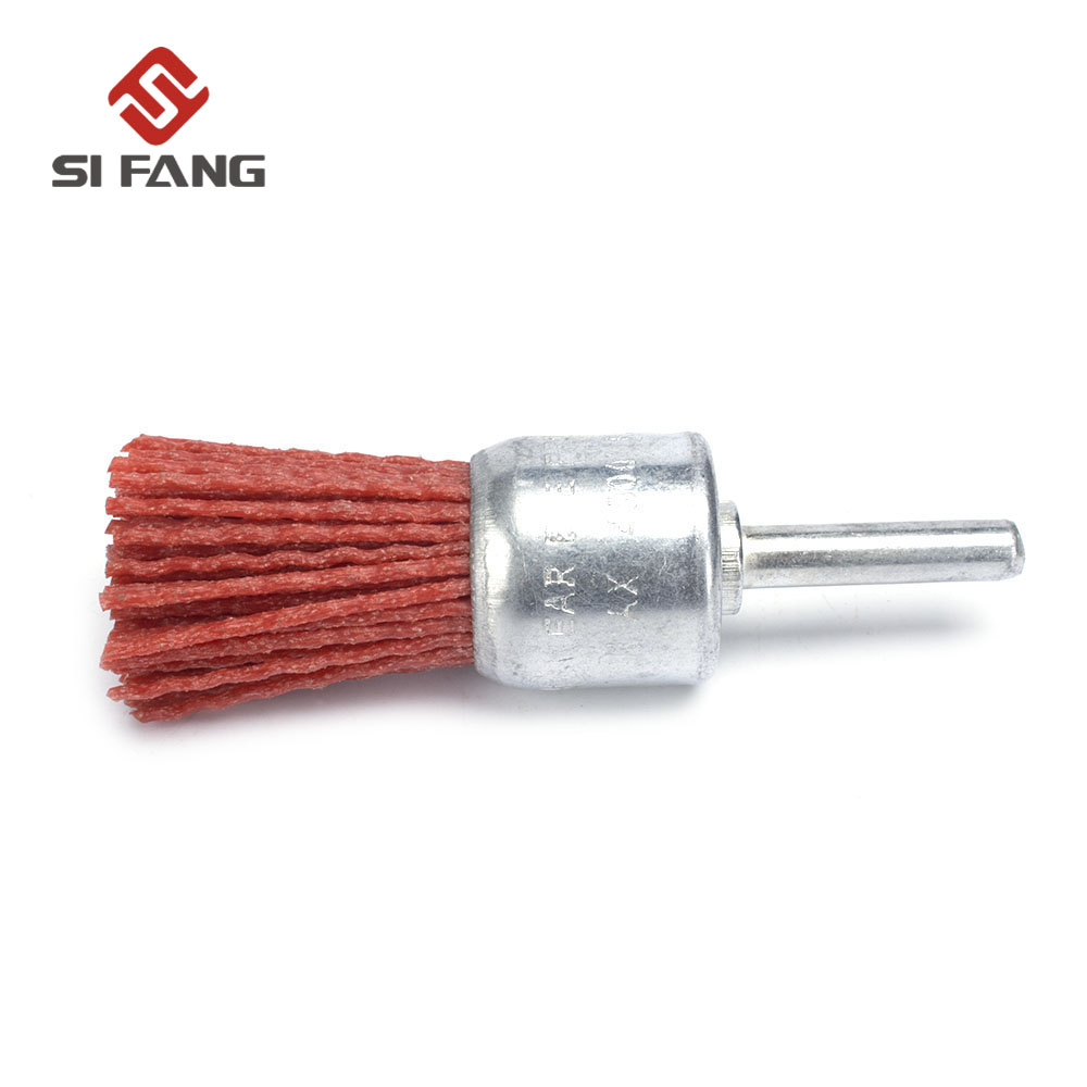 Abrasive Wire Polishing Brush Nylon For Woodworking Cleaning Tool