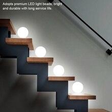 2pcs LED Infrared Human Body Motion Sensor Night Light Lamp For Corridor Wardrobe Home