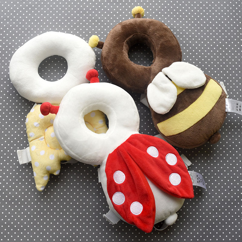 Cute Baby Newborn Head & Back Protection Pillow Toddler Wings Drop Resistance Pad Guardian Cushion Toys YJS Dropship
