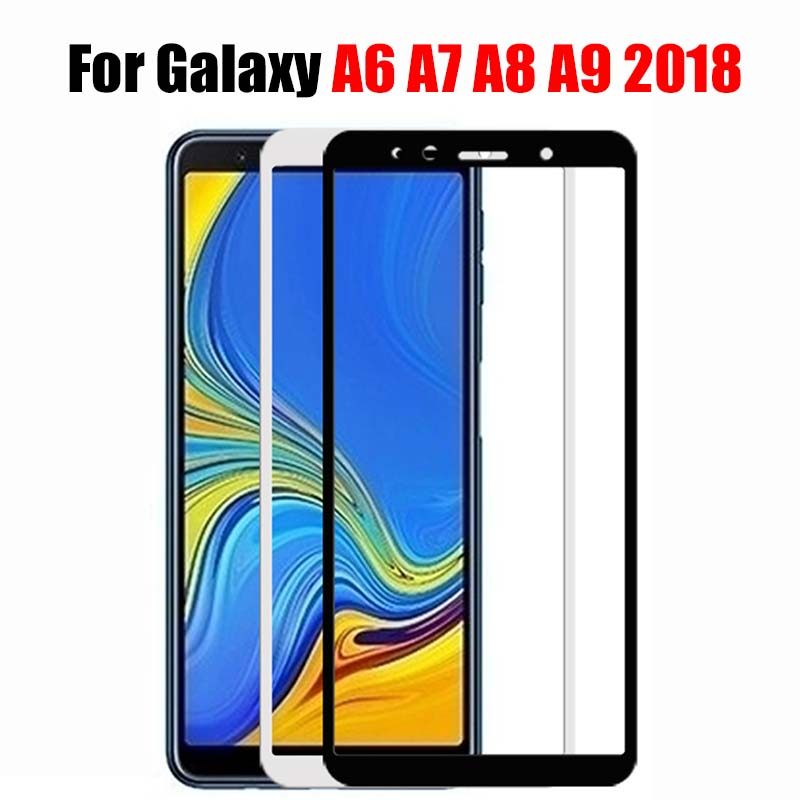 5d For Samsung Galaxy A6 A7 A8 A9 2018 Protective Glass Screen Protector For Samsung A6plus A8plus Tremp Glass Film On A 6 8 7 9