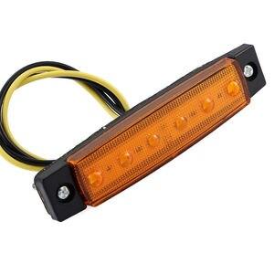 Image 2 - 12 v 6 LED Lkw Boot BUS Anhänger Seite Marker Rücklicht Indikatoren Licht Lampe Passt für die meisten Busse/Lkw /anhänger/Lastwagen