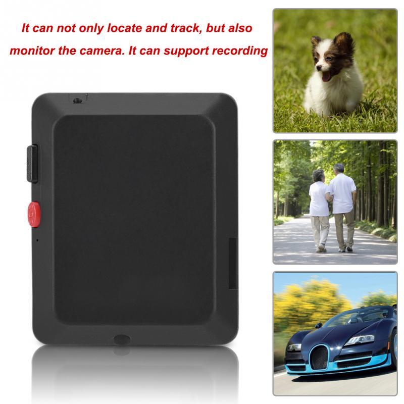 X009 Mini GSM Locator avec 2 Millions Caméra Moniteur Vidéo Tracker Suivi En Temps Réel et D'écoute GPS Tracker avec SOS bouton