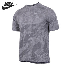 Nike Original New Arrival Men's T-shirts Breathable Short Sleeve Sportswear #AA2215 недорого
