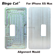 LCD Outer Glass Laminating Aluminium Mold For iPhone X iPhoneX XS Max UV Glue Positioning Alignment Laminator Metal Mould high precision metal mold mould for samsung s6 edge g9250 lcd screen laminating and positioning alignment