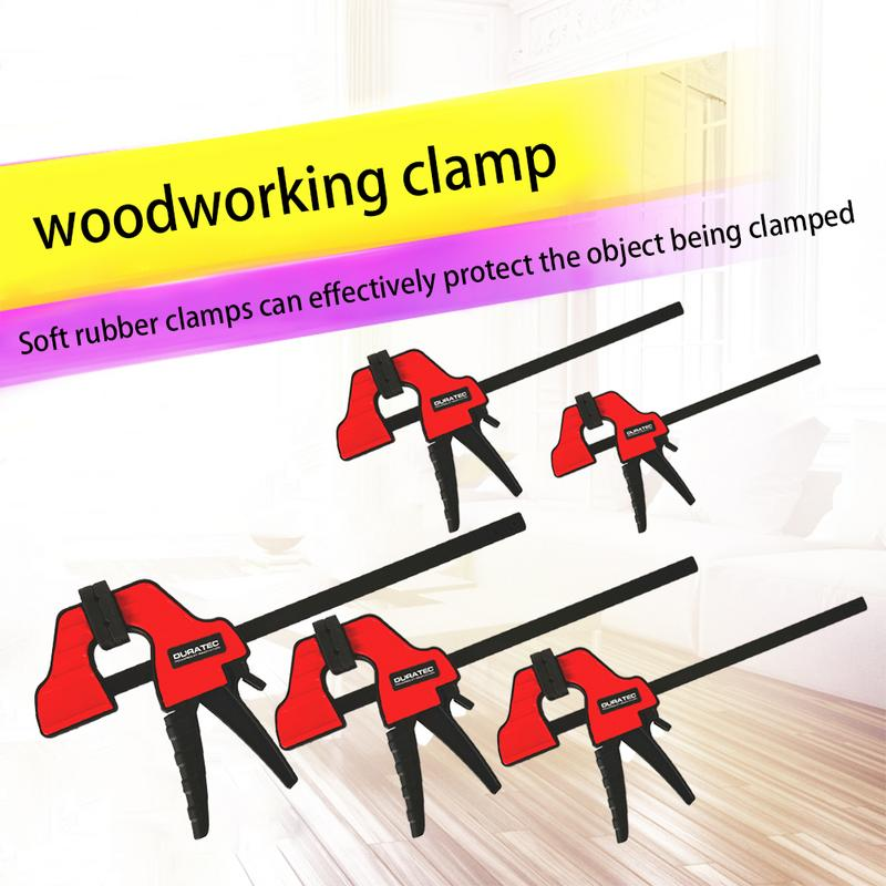 F Shape Bar Clamp Wood Working Tools Quick Grip F Clamp 4/6/12/18/24 Inch Plastic Carpentry Clamps Quick ReleaseF Shape Bar Clamp Wood Working Tools Quick Grip F Clamp 4/6/12/18/24 Inch Plastic Carpentry Clamps Quick Release