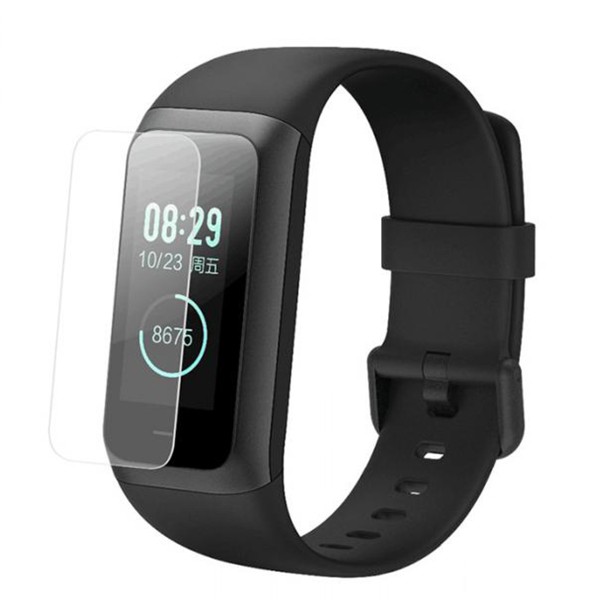 2pcs Soft TPU Screen Protector Explosion Proof Anti Scratch Screen Cover Films For <font><b>Huami</b></font> <font><b>Amazfit</b></font> <font><b>Cor</b></font> <font><b>2</b></font> Fitness Smart Bracelet image