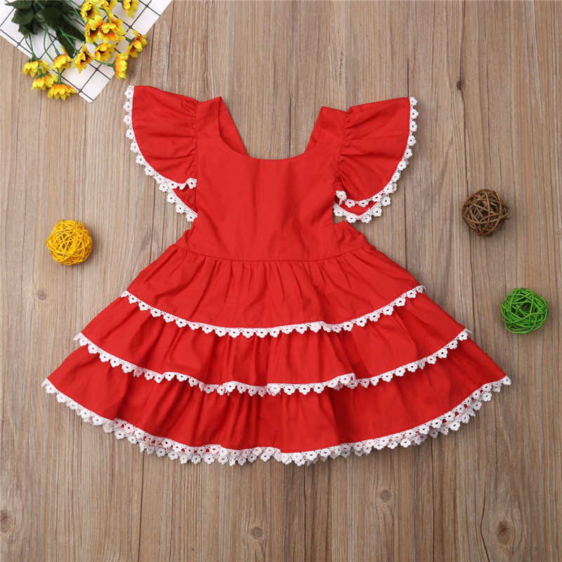 Detail Feedback Questions about Toddler 1 6Y Kids Baby Girls Princess  Ruffle Lace Party Prom Tiered Tutu Sun Dress Clothes on Aliexpress.com  643642d3565b
