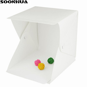 SOONHUA Portable Mini Folding Lightbox P